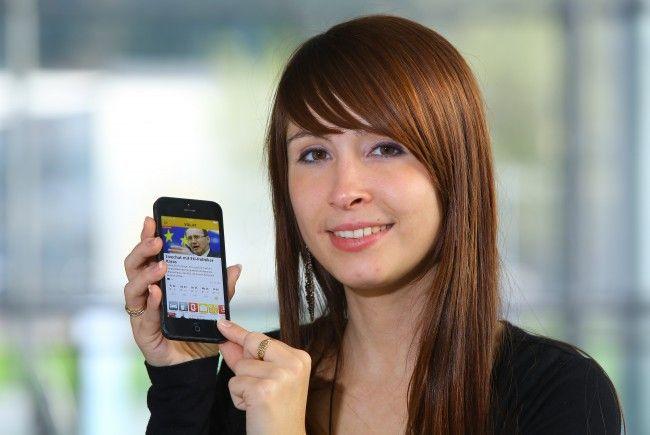 Neues Design und neue Funktionen für die VOL.AT-App und Mobilversion.