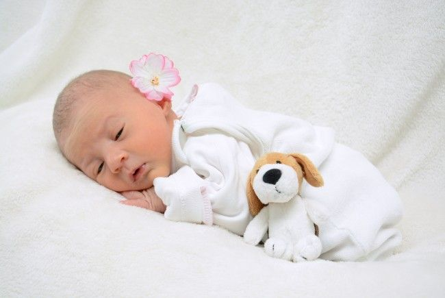 Geburt von Melissa Schmid am 23. November 2013