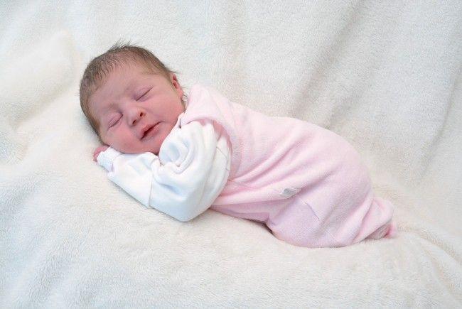 Geburt von Magdalena Schwarz am 16. Februar 2014
