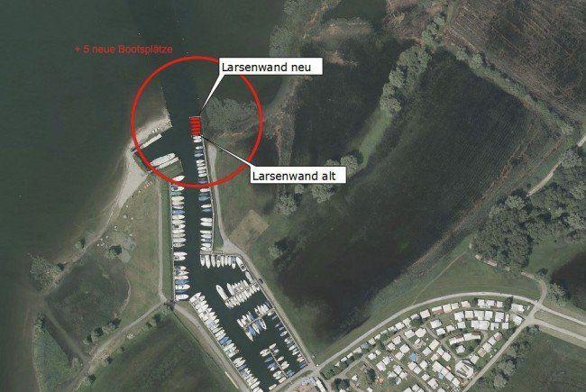 Rohrspitz: Hafenerweiterung ohne Genehmigung