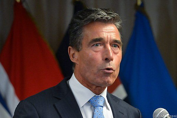 Rasmussen sicherte die Untertützung der NATO zu