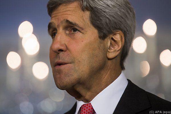Kerry sucht nach Einigung nach Afghanistan-Wahl