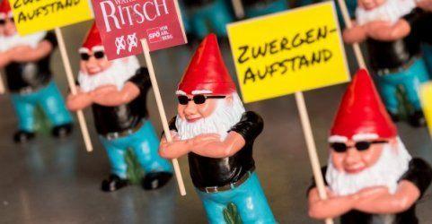 Videos sollen Wahlwerber der ÖVP beim Zwergenklau zeigen