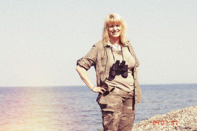 So präsentiert sich Tante Klara in ihrem Blog.