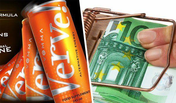 Vorarlberger Jugendlichen wird leichtes Geld versprochen, wenn sie den Energy Drink vertreiben.