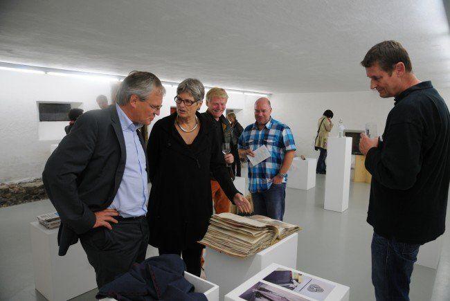 """Neben der laufenden Ausstellung """"Walgau Sammeln"""" wurde vergangene Woche in der Artenne """"Typisch Walgau"""" eröffnet."""