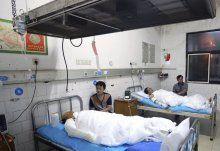 China: Explosion in Feuerwerksfabrik