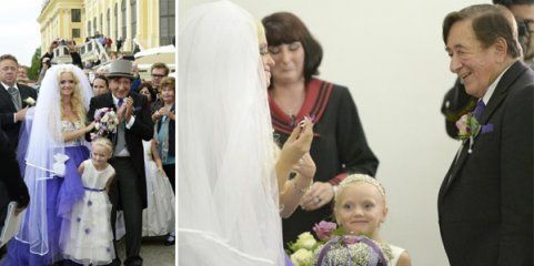 """Just Married: Lugner & """"Spatzi"""""""