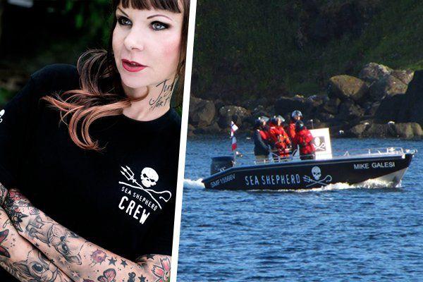 Sandy P. Peng hat sich auf den Faröer-Inseln für die Meeresbewohner eingesetzt