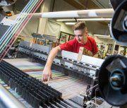 Textilindustrie mit stabilen Umsätzen