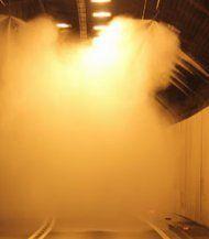 Citytunnel: Nebelwand soll vor Feuer schützen