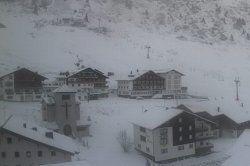 Erster Schnee in Vorarlberg