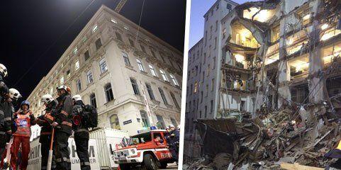 Einsturz bei Manner-Fabrik in Wien: Die Baupolizei ermittelt