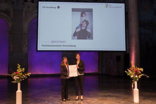 Staatliche Auszeichnung für FH Vorarlberg