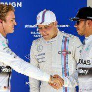 Rosberg raste auf Austin-Pole - WM-Leader Hamilton Zweiter