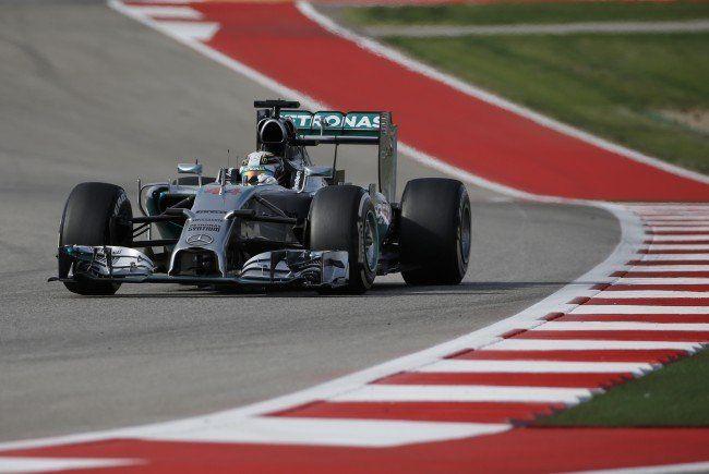 Lewis Hamilton siegt im Formel-1-Grand-Prix der USA.