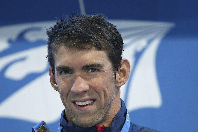 Michael Phelps gilt als der vielseitigster Schwimmer der Gegenwart.