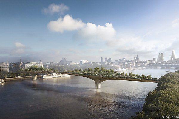 """""""Garden Bridge"""" als """"Oase der Ruhe"""" geplant"""