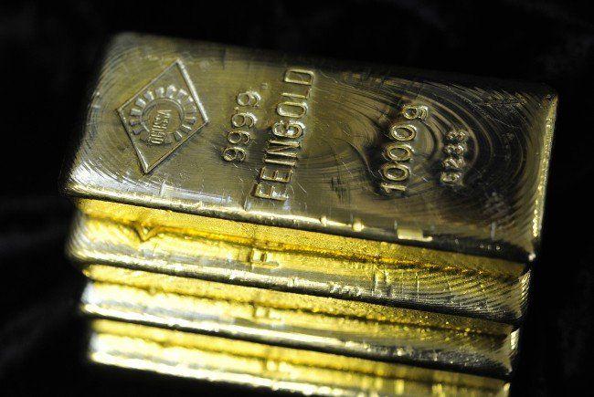 Russland hat weltweit die fünftgrößten Goldreserven.