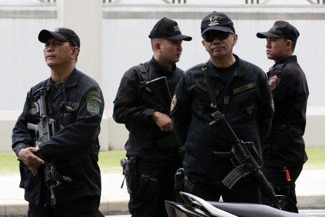 Polizisten stürmten das Bilibid-Gefängnis.