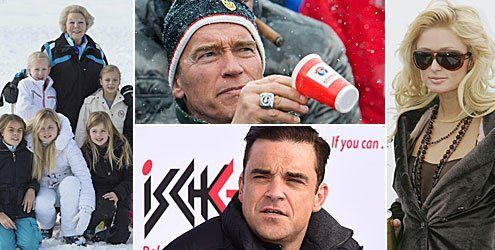 "Aprés-Ski mit den Stars: Hochadel besucht Lech - Paris Hilton ""Kitz"""