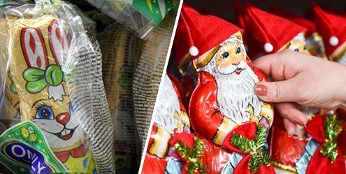 Osterhase und Eier statt Nikolaus und Kekse zur Weihnachtszeit