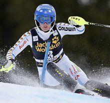 Maria Pietilä-Holmner gewinnt Aare-Slalom