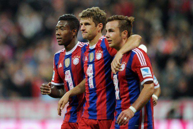 """Auch ein schöner Titel: Alaba ist Pep Guardiolas """"Allzweckwaffe"""" beim FC Bayern."""