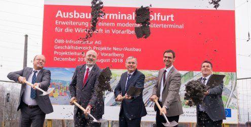 Spatenstich: 66-Millionen-Euro- Projekt in Wolfurt kommt in Fahrt
