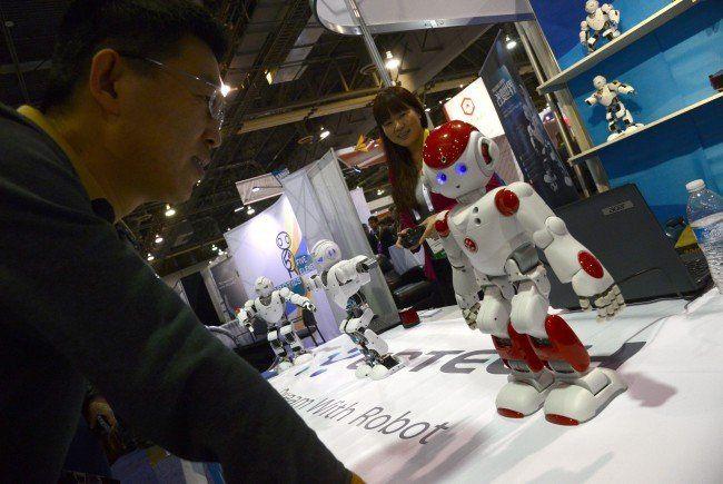 Auf der Elektronikmesse CES werden die Neuheiten in Sachen Technik vorgestellt.