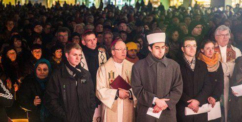 Friedensgebet in Dornbirn - ein Zeichen gegen den Terror setzen