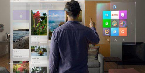 Windows 10: Kostenloses Update und eine coole Hologramm-Brille
