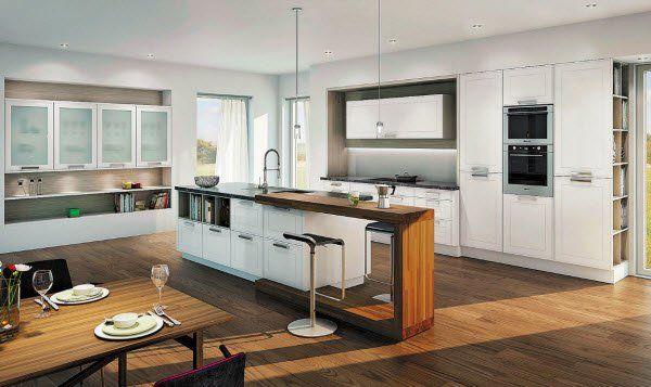 mehr komfort in der k che vol at. Black Bedroom Furniture Sets. Home Design Ideas