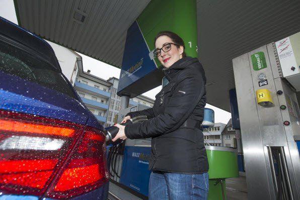Die Kraftstoffpumpe schwingt und in den Vergaser handelt das Benzin nicht