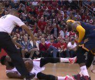 Unfeine NBA: Tritt in die Weichteile