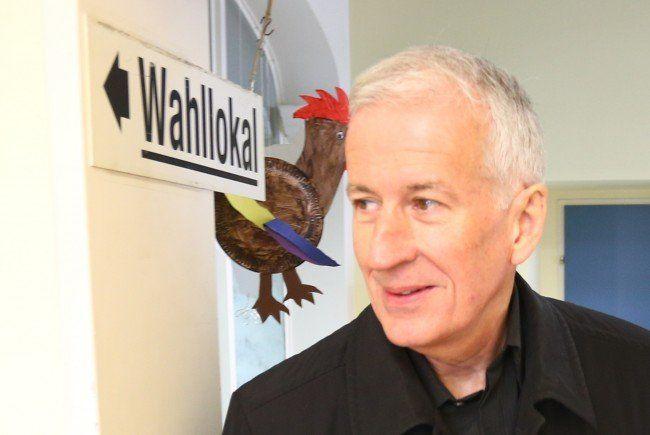 Wilfried BErchtold bleibt Bürgermeister in Feldkirch. - © VOL.AT/Klaus Hartinger - WBerchtoldHarti-650x435
