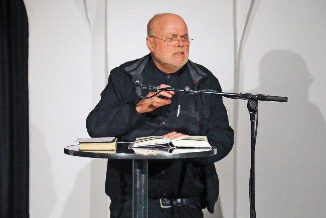 Manfred Schlapp sprach am Saumarkt über sein dem Islam gewidmetes Buch.