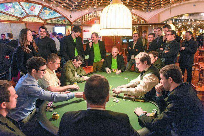 Hochspannung beim Finale des Vereins Poker-Cup.