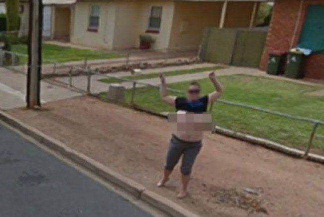 Nackt auf Google Maps: Frau droht Haftstrafe | VOL.AT