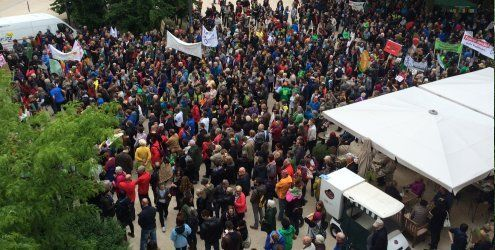"""March Against Monsanto"": Hunderte bei Demo in Bregenz"