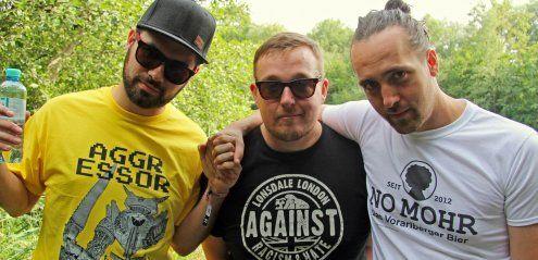 Die Antilopen Gang im Interview beim Szene Openair in Lustenau