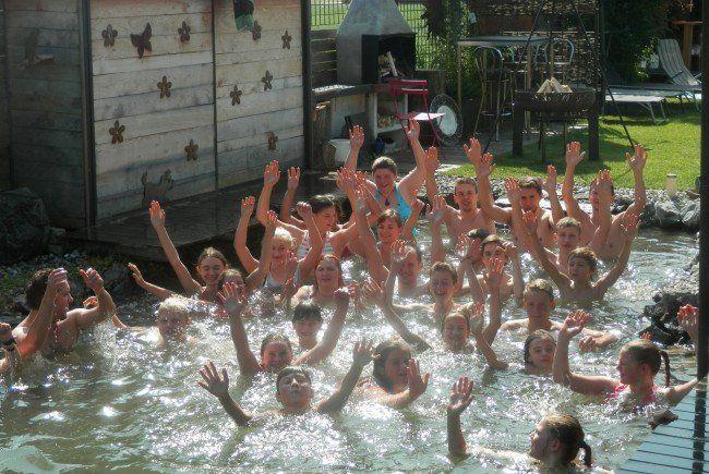Poolparty der Jugendmusik Feldkirch-Nofels