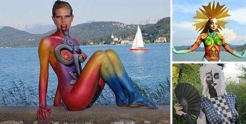 """""""World Bodypainting Festival"""": Pörtschach trieb es wieder bunt"""