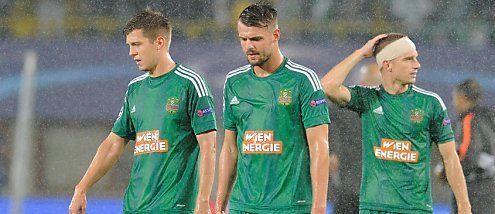 Champions-League: Rapid glaubt noch an das Wunder von Lemberg