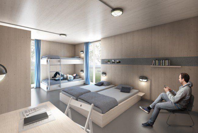 In einer ähnlichen Form werden sich auch die Flüchtlingsheime in Hannover präsentieren.