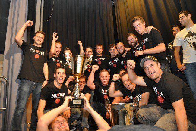 Die Sportfreund Nofels gewannen den Hobbyliga Titel 2015