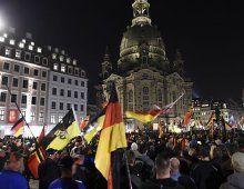 Dresden: Tausende bei Pegida-Veranstaltung
