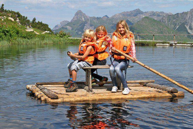 Bärenland am Sonnenkopf ist der schönste Spielplatz Vorarlbergs