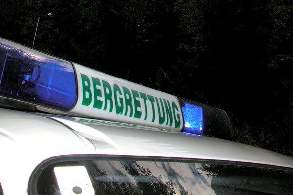 81-jähriger Deutscher 150 Meter in Felsrinne abgestürzt.