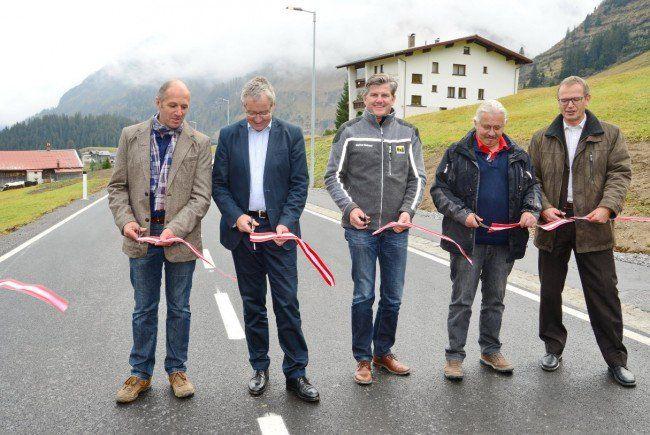 Verkehrsfreigabe der neu ausgebauten Bregenzerwaldstraße